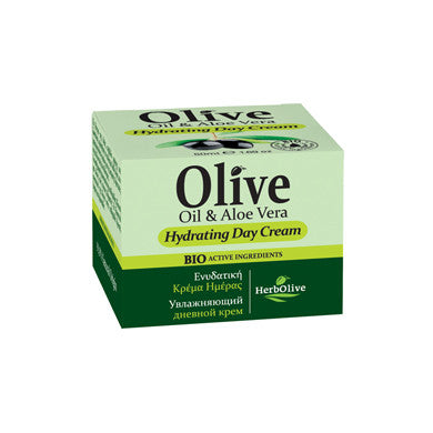 HerbOlive Face Cream, Hydrating Day Cream with Olive Oil & Aloe Vera 50ML/1.69oz, Face Cream, OnlyMySkin.com - OnlyMySkin.com