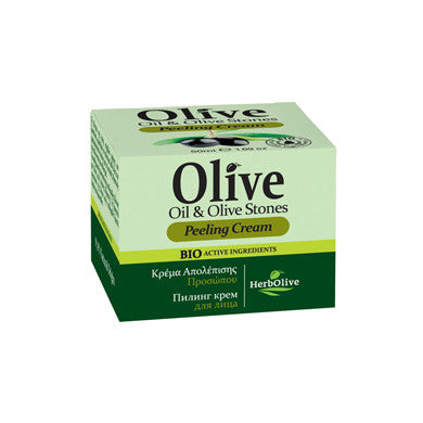 HerbOlive Face Cream, Peeling Cream with Olive Oil & Olive Stones 1.69 oz, Face Cream, OnlyMySkin.com - OnlyMySkin.com