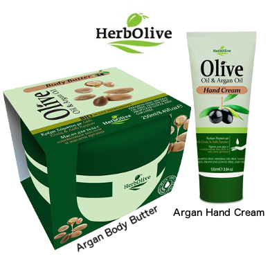 Special-HerbOlive Body Butter Olive Oil Argan Oil 8.45 oz. & Hand Cream Olive Oil Argan Oil 3.64 oz., Hand cream, OnlyMySkin.com - OnlyMySkin.com