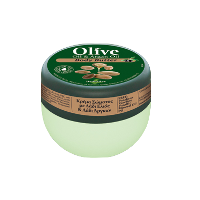 HerbOlive Mini Body Butter with Olive Oil & Argan Oil 50ml/1.69 oz, Body Butter, OnlyMySkin.com - OnlyMySkin.com