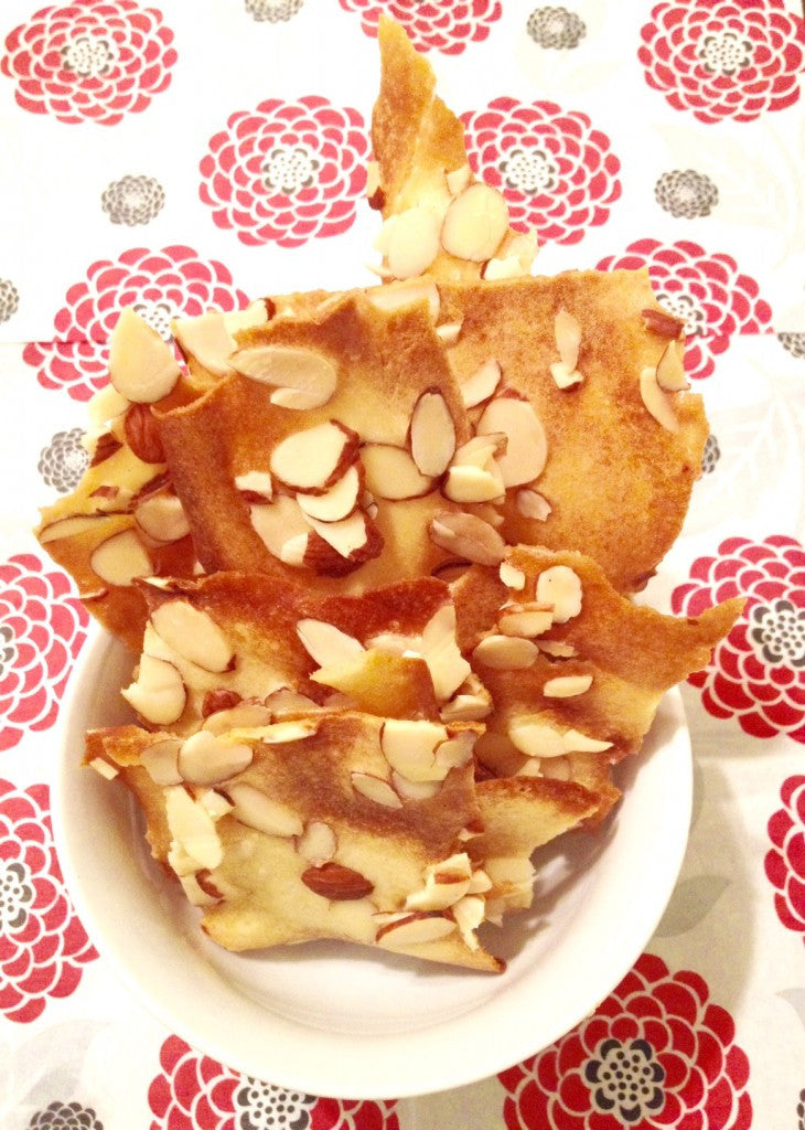 Chinese New Year Almond Crisp