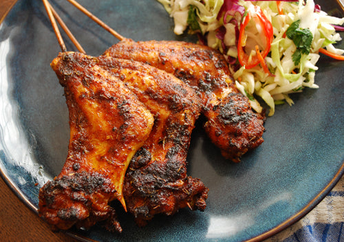 4th of July Fusion! Asian Style Wings & Slaw