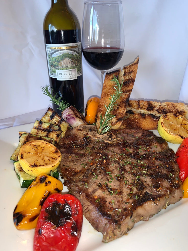 Grilled Tuscan Style T Bone Steak