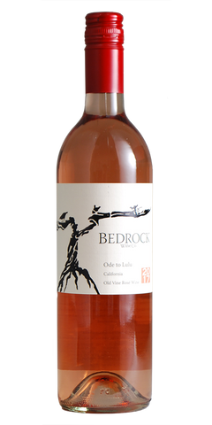 "Bedrock California ""Ode to Lulu"" Old Vine Rosé 2017"