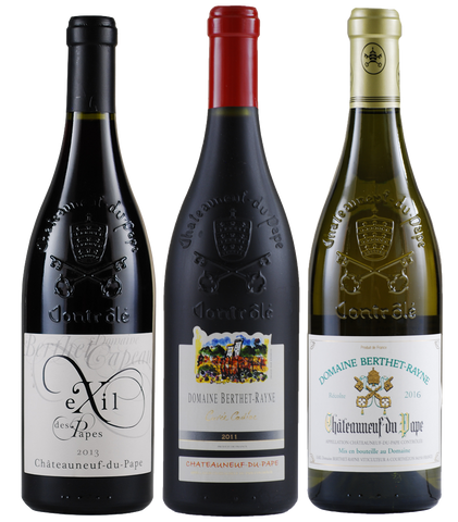 Chateanuef-du-Pape Gift Pack: Domaine Berthet-Rayne