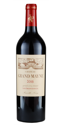 Chateau Grand Mayne Saint-Emilion 2016