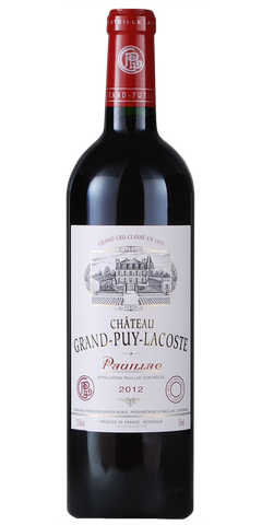 Chateau Grand Puy Lacoste Pauillac 2012