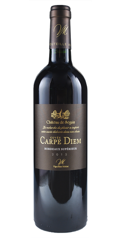 Cuvee Carpe Diem Bordeaux Superieur Red 2015