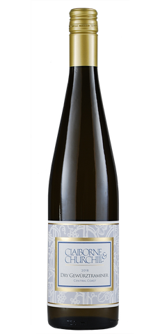 Claiborne & Churchill Central Coast Gewurztraminer Dry 2017