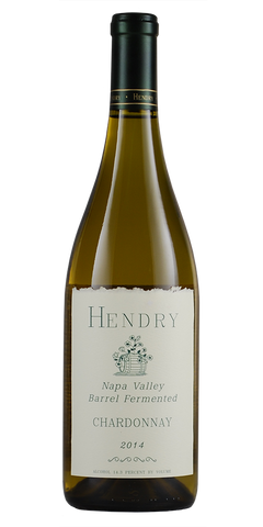 Hendry Vineyard  Napa Valley Barrel Fermented Chardonnay 2014