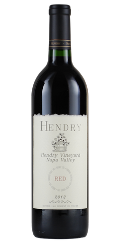 Hendry Vineyard  Napa Valley Red Blend 2012