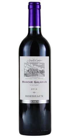 Manior Galhaud Bordeaux 2014