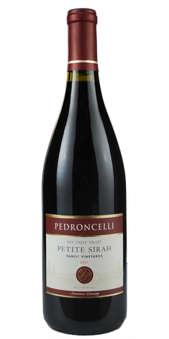 Pedroncelli Family Vineyards Petite Sirah Dry Creek Valley 2001 Cellar Select