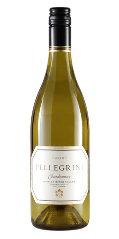 Pellegrini Russian River Valley Unoaked Chardonnay 2018