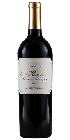 William Harrison Napa Valley Rutherford Estate Cabernet Sauvignon 2013
