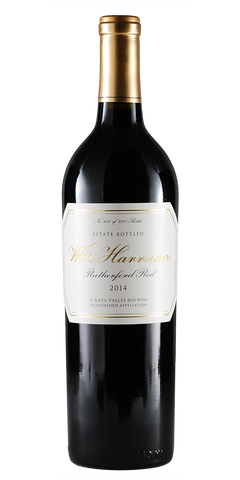 Wm Harrison Estate Napa Valley Rutherford Red 2014
