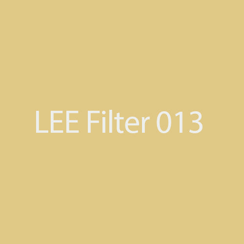 LEE Filters 013 Straw Tint