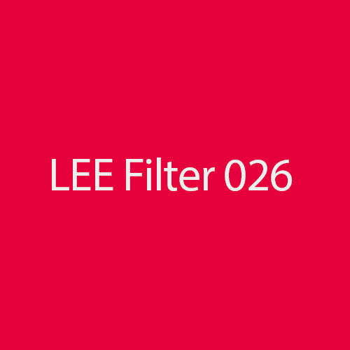LEE Filters 026 Bright Red