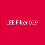 LEE Filters 029 Plasa Red