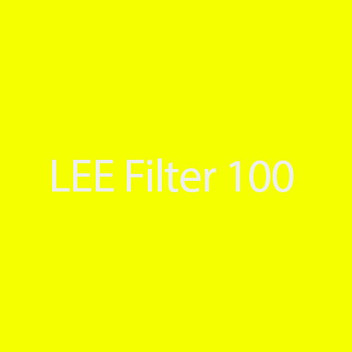 LEE Filters 100 Spring Yellow