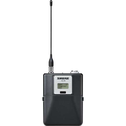 Shure AD1 Wireless Bodypack Transmitter with TA4 Connector G57