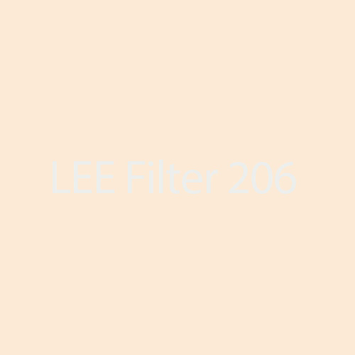 LEE Filters 206 Quarter C.T. Orange