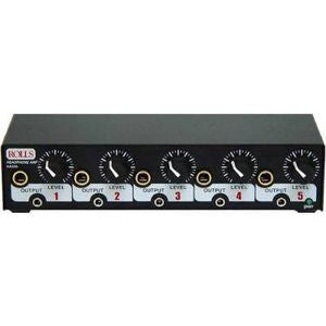 Rolls 5 CH Headphone Amp 1/2 Rack