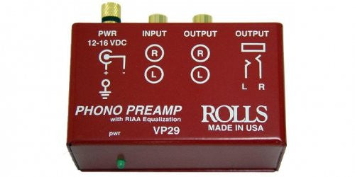 Rolls Phono Preamp