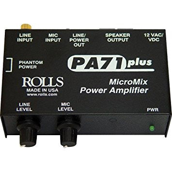 Rolls MicroMix Power Amplifier