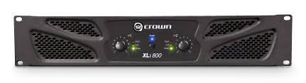 Crown XLi Amplifers