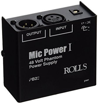 Rolls 1 CH Phantom Power Adapter