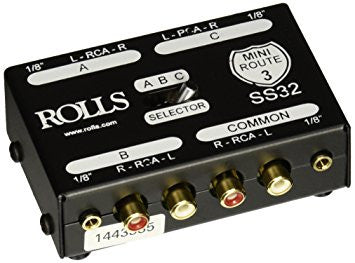 Rolls 3 Way Stereo Switch