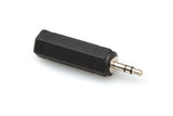 Hosa Adaptor 1/4 in TS to 3.5 mm TRS