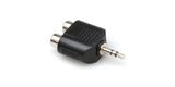 Hosa Adaptor Dual RCA to 3.5 mm TRS