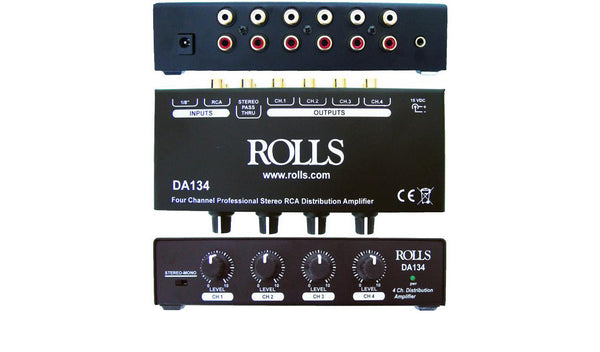 Rolls 4 Channel RCA Distribution Amp