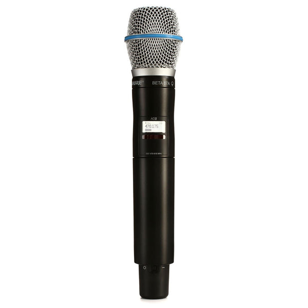 Shure AD2/B87A Wireless Handheld Microphone Transmitter G57