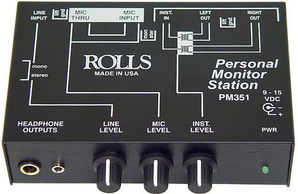 Rolls Personal Monitor Station