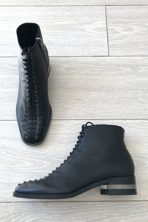 DJANGO & JULIETTE - Finnegan Black Leather Boots - Style on Point