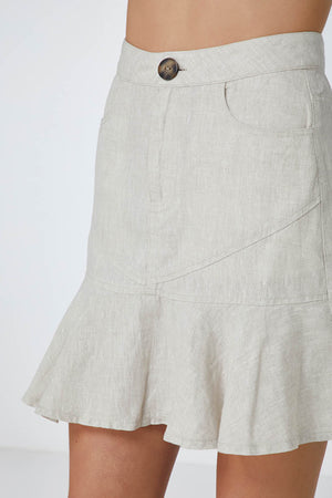 ELKA COLLECTIVE - Riley Skirt Natural - Style on Point