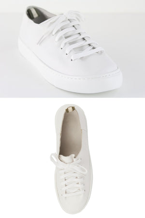 Orphic White leather - Style on Point