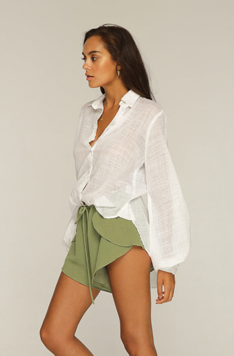 RUE STIIC - Peggy Shirt White - Style on Point