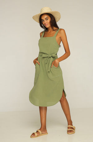 RUE STIIC - Ford Tunic Dress Khaki - Style on Point