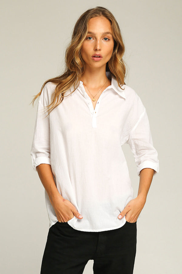 RUE STIIC - HARRISON SHIRT WHITE - Style on Point