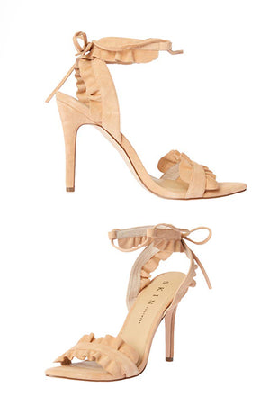 SKIN - SOMERSET HEELS IN CAMEL - Style on Point