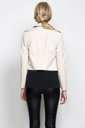 WISH - LET ME GO JACKET  IN SAND - Style on Point