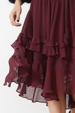 STEVIE MAY - SENNA MIDI SKIRT - Style on Point