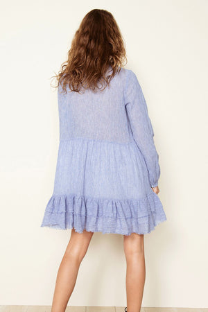 THE EAST ORDER - Florence L/S Mini Dress - Style on Point