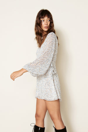 THE EAST ORDER - SAMPSON L/S MINI DRESS - Style on Point