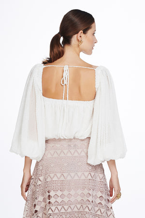 We Are Kindred - Constance Bishop Sleeve Blouse