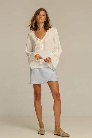 RUE STIIC - SEDONA SHIRT WHITE - Style on Point